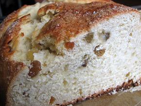 Снимка 1 от рецепта за Великденски козунак със стафиди