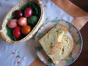 Снимка 3 от рецепта за Великденски козунак със стафиди