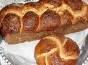 Снимка 4 от рецепта за Великденски козунак със стафиди