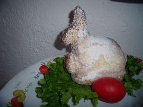 Снимка 2 от рецепта за Великденски заек и агне във форми за печене