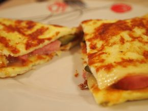 Снимка 3 от рецепта за Весел омлет