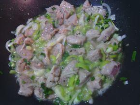 Снимка 5 от рецепта за Винен кебап  със свинско месо