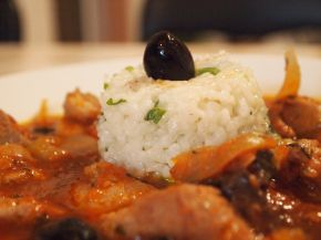 Снимка 2 от рецепта за Винено телешко с варен ориз