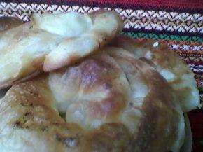 Снимка 3 от рецепта за Вита баница с готови ръчно точени кори