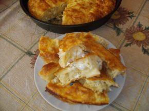 Снимка 2 от рецепта за Вита баница със сирене