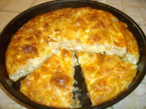 Снимка 3 от рецепта за Вита баница със сирене