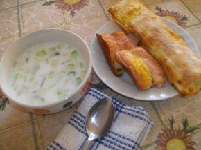 Снимка 7 от рецепта за Вита баница със сирене