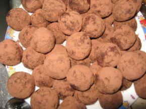 Снимка 4 от рецепта за Вкусни трюфели от сухи кексчета