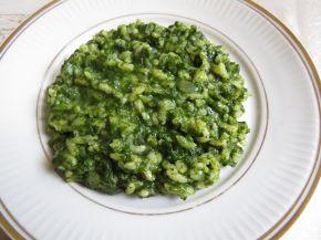 Снимка 1 от рецепта за Задушен спанак с ориз на фурна