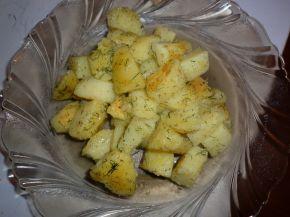 Снимка 3 от рецепта за Задушени в масло картофи