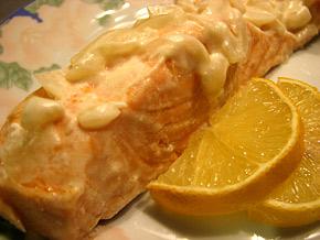 Снимка 2 от рецепта за Задушено филе от сьомга