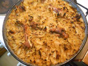 Снимка 3 от рецепта за Заек със зеле и домати