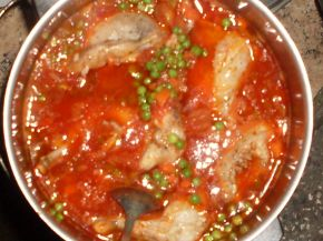 Снимка 2 от рецепта за Заешко месо с грах