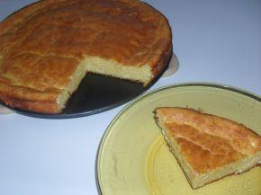 Снимка 3 от рецепта за Закуска с брашно и царевичен грис