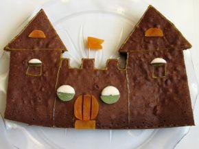 Снимка 1 от рецепта за Шоколадов сладкиш - замък