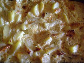 Снимка 2 от рецепта за Запечени картофи с яйца и сирене