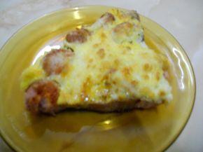 Снимка 4 от рецепта за Запечени кренвирши с кашкавал и яйца