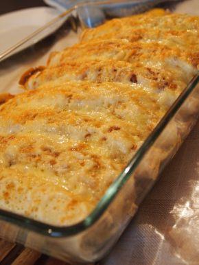 Снимка 5 от рецепта за Запечени палачинки с пълнеж