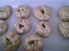 Снимка 5 от рецепта за Запечени `пелмени` с плънка от картофи, копър и слънчоглед