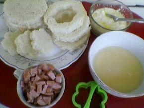 Снимка 3 от рецепта за Запечени сандвичи с плънка