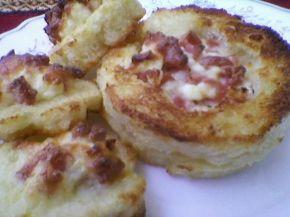 Снимка 4 от рецепта за Запечени сандвичи с плънка
