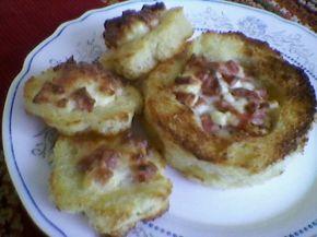 Снимка 5 от рецепта за Запечени сандвичи с плънка