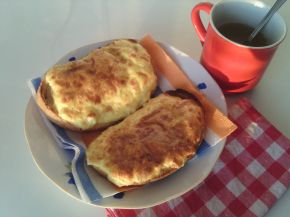 Снимка 5 от рецепта за Печени сандвичи
