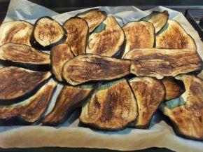 Снимка 4 от рецепта за Запеканка с патладжан и тиквички