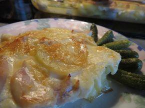Снимка 1 от рецепта за Запеканка с пилешко филе