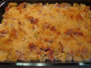 Снимка 3 от рецепта за Запеканка с пилешко филе