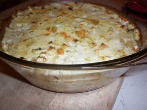 Снимка 3 от рецепта за Запеканка с тиквички и картофи