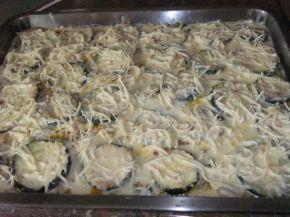 Снимка 9 от рецепта за Запеканка с тиквички и пилешко месо
