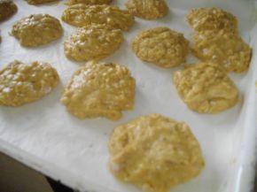 Снимка 2 от рецепта за Здравословни овесени бисквитки с мед
