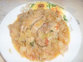 Снимка 2 от рецепта за Зеле с месо