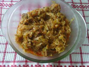 Снимка 3 от рецепта за Зеле с месо