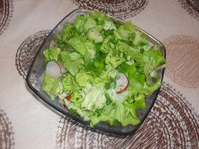 Снимка 4 от рецепта за Зелена салата