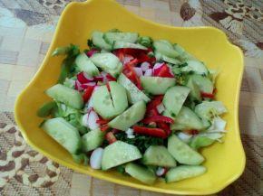 Снимка 6 от рецепта за Зелена салата