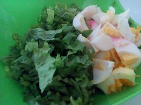 Снимка 7 от рецепта за Зелена салата