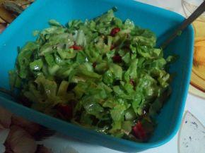 Снимка 8 от рецепта за Зелена салата