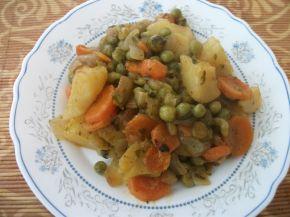Снимка 3 от рецепта за Зеленчуци на фурна