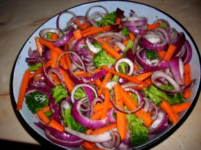 Снимка 2 от рецепта за Зеленчуци във фурна