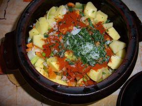 Снимка 2 от рецепта за Зеленчуково гювече