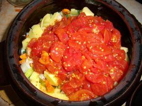Снимка 3 от рецепта за Зеленчуково гювече