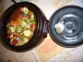 Снимка 4 от рецепта за Зеленчуково гювече