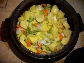 Снимка 5 от рецепта за Зеленчуково гювече