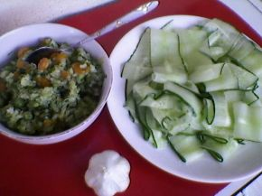 Снимка 2 от рецепта за Зеленчуково `суши`