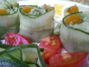 Снимка 4 от рецепта за Зеленчуково `суши`
