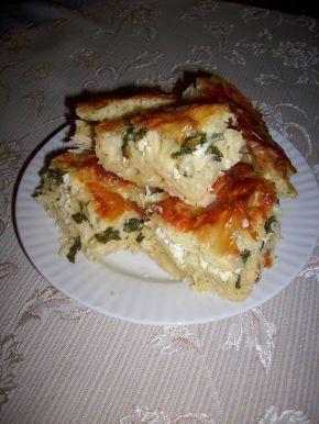 Снимка 3 от рецепта за Зелник с лапад