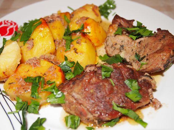 Снимка 1 от рецепта за Бирено свинско