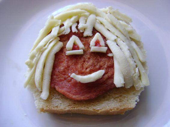 Снимка 1 от рецепта за Сандвич `Момиче`